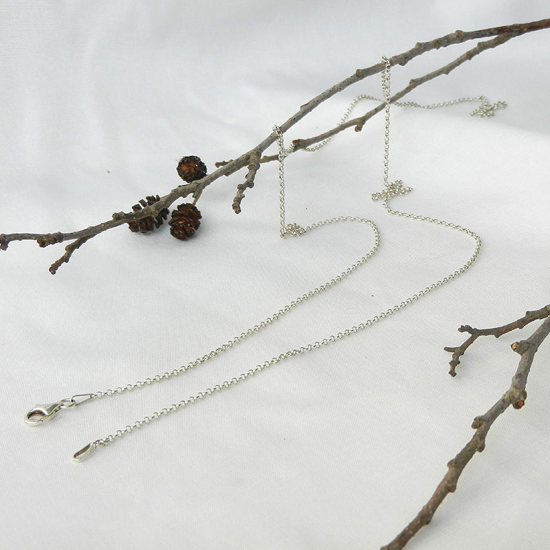 Silberkette 70 cm lang